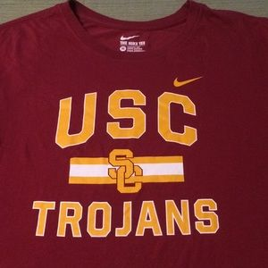 USC TROJANS NIKE BEAUTIFUL TOP EXCELLENT